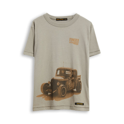 KID Grey Bonneville - Short Sleevess Tee-Shirt