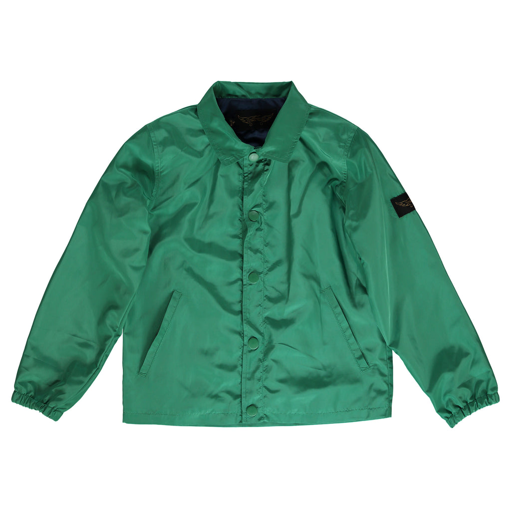 KRUIZER Green - Boy Coach Jacket