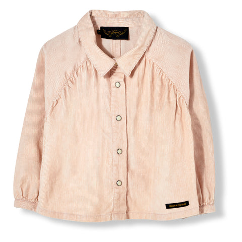 LAKEVIEW Light Pink Cord - Long Sleeve Shirt 1