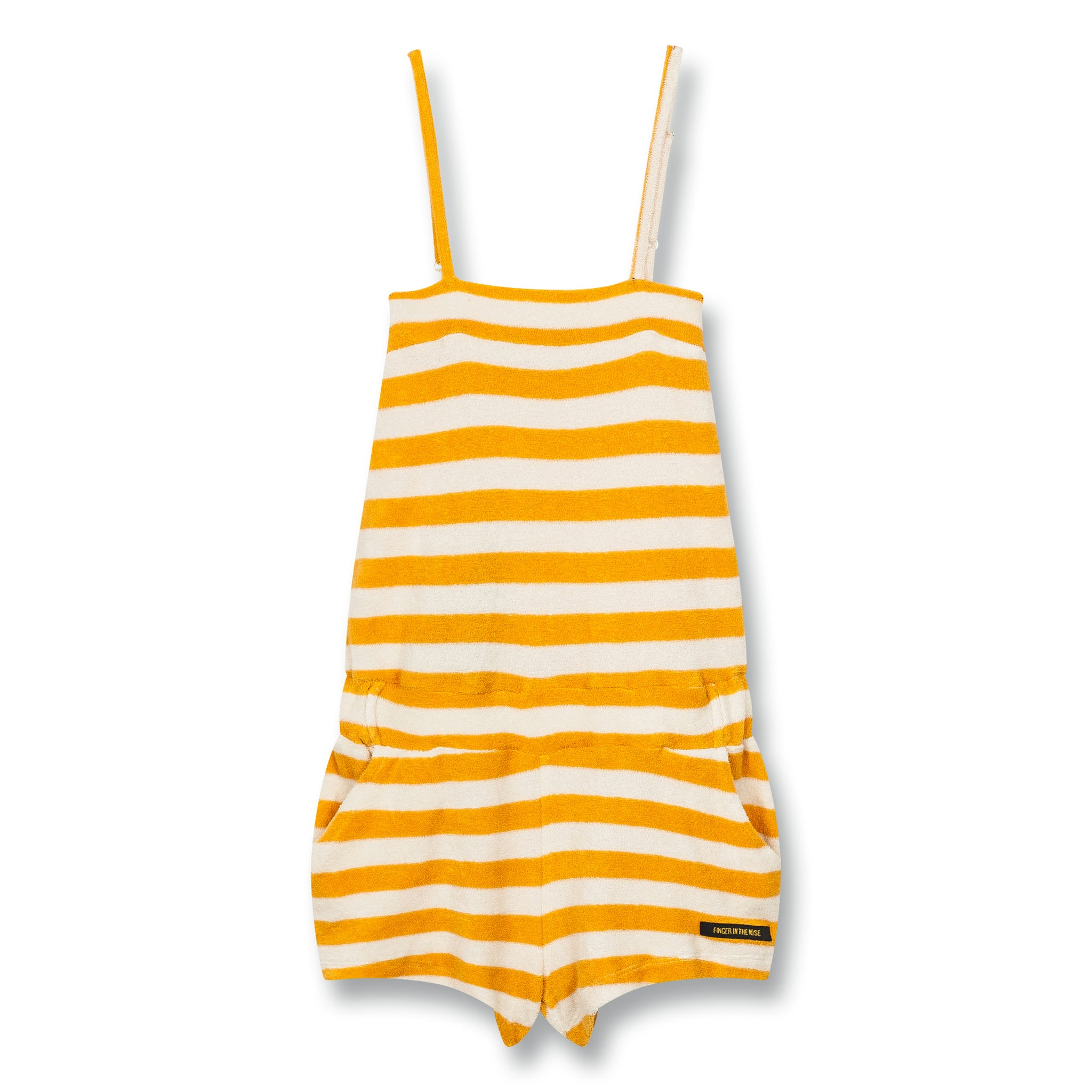 LIV Mandarin Stripes - Short Overall 1