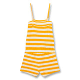 LIV Mandarin Stripes - Short Overall 2