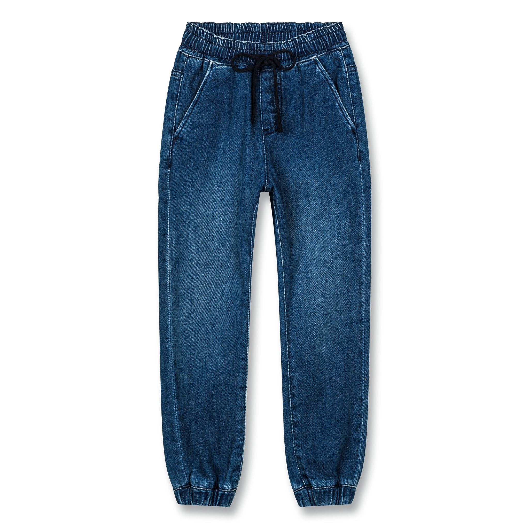 LONGBEACH Blue Denim - Woven Jogging Pants 1