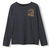 LONGJOHN Ash Black Little Company -  Knitted Long Sleeve Jersey T-Shirt 1