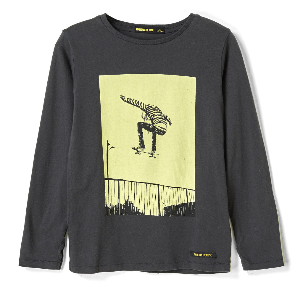 LONGJOHN Coal Ollie - Long Sleeves T-shirt
