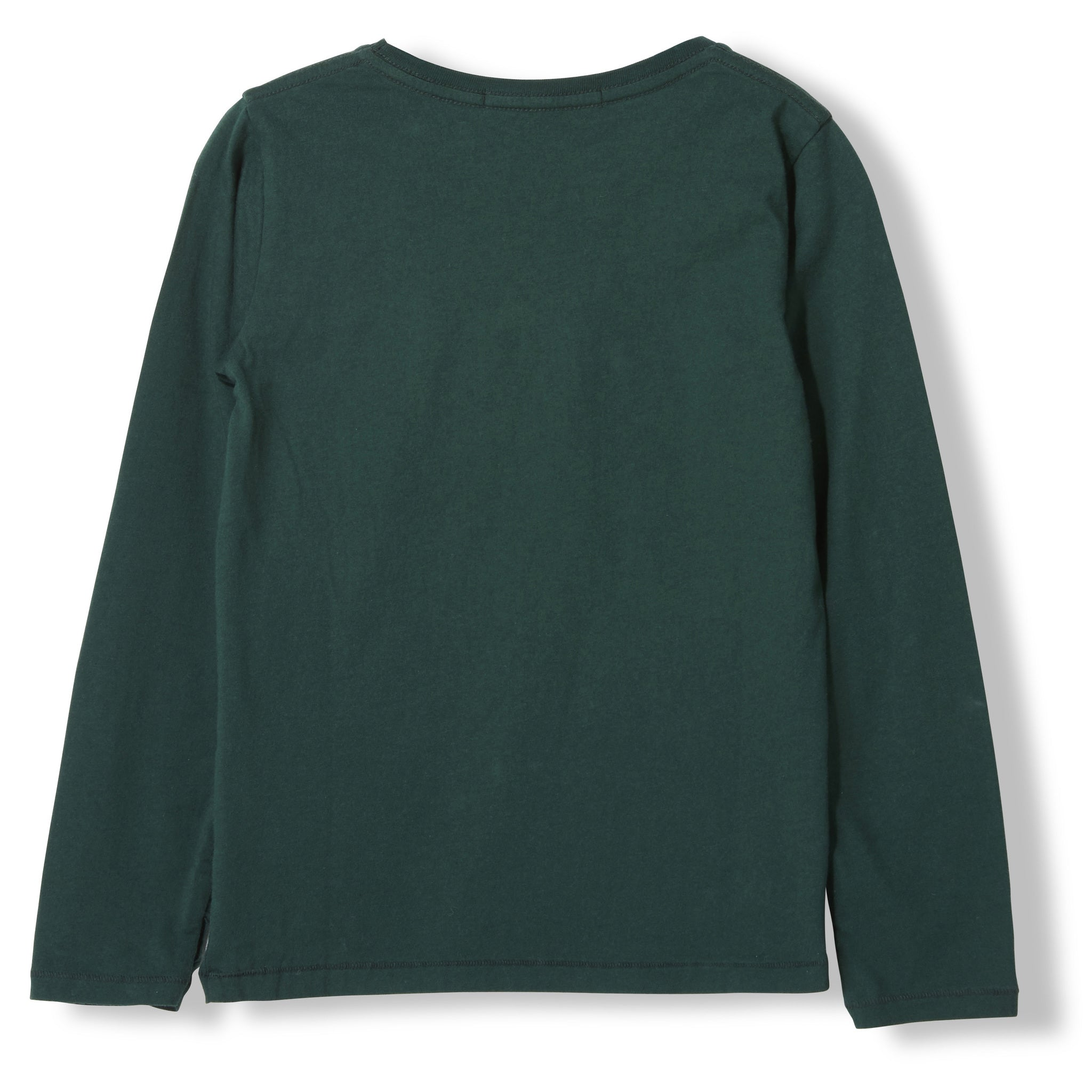 LONGJOHN College Green Puzzle -  Knitted Long Sleeve Jersey T-shirt 2