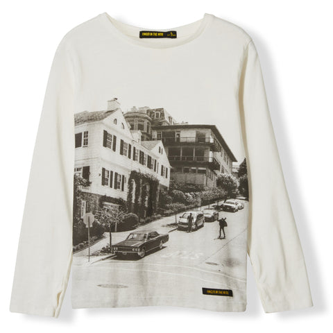 LONGJOHN Off White Downhill -  Knitted Long Sleeve Jersey T-shirt  1