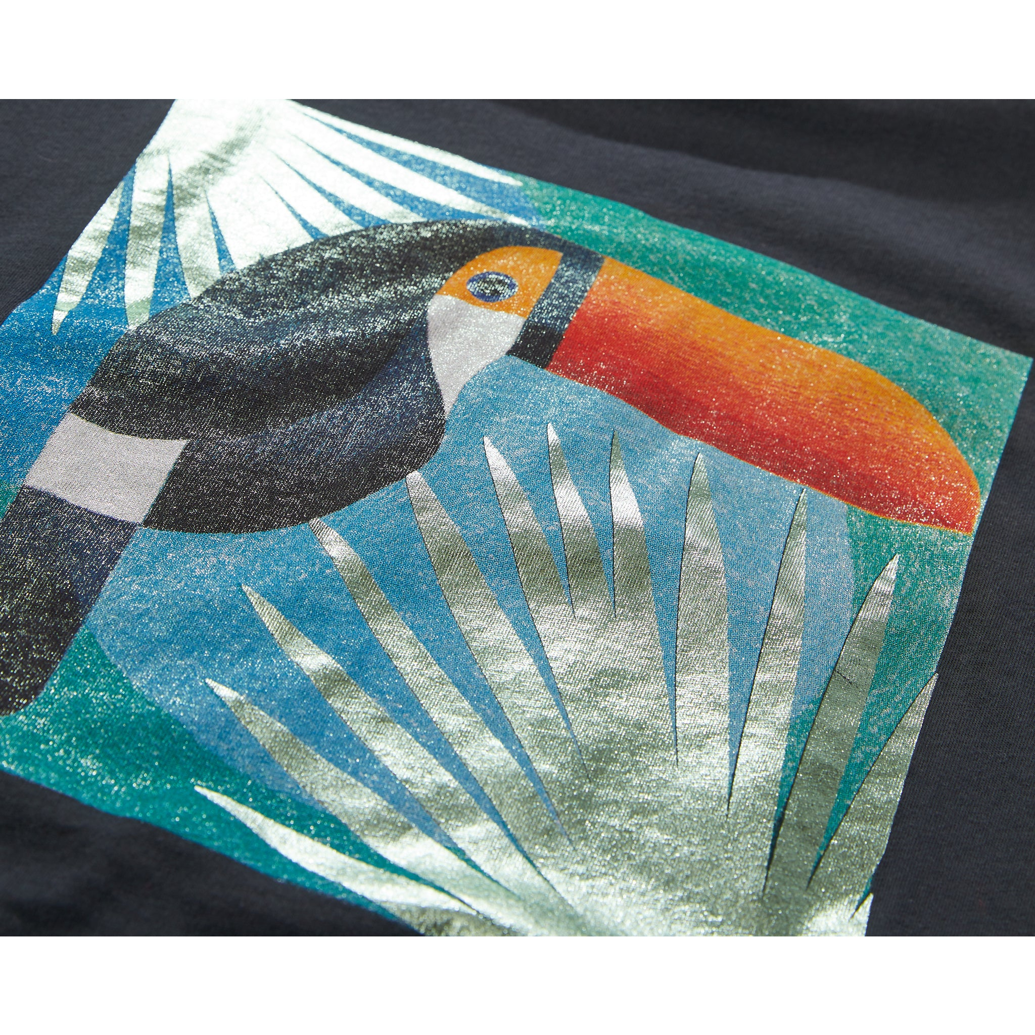 MARSH Ash Black Toucan - Sleeveless T-Shirt 3