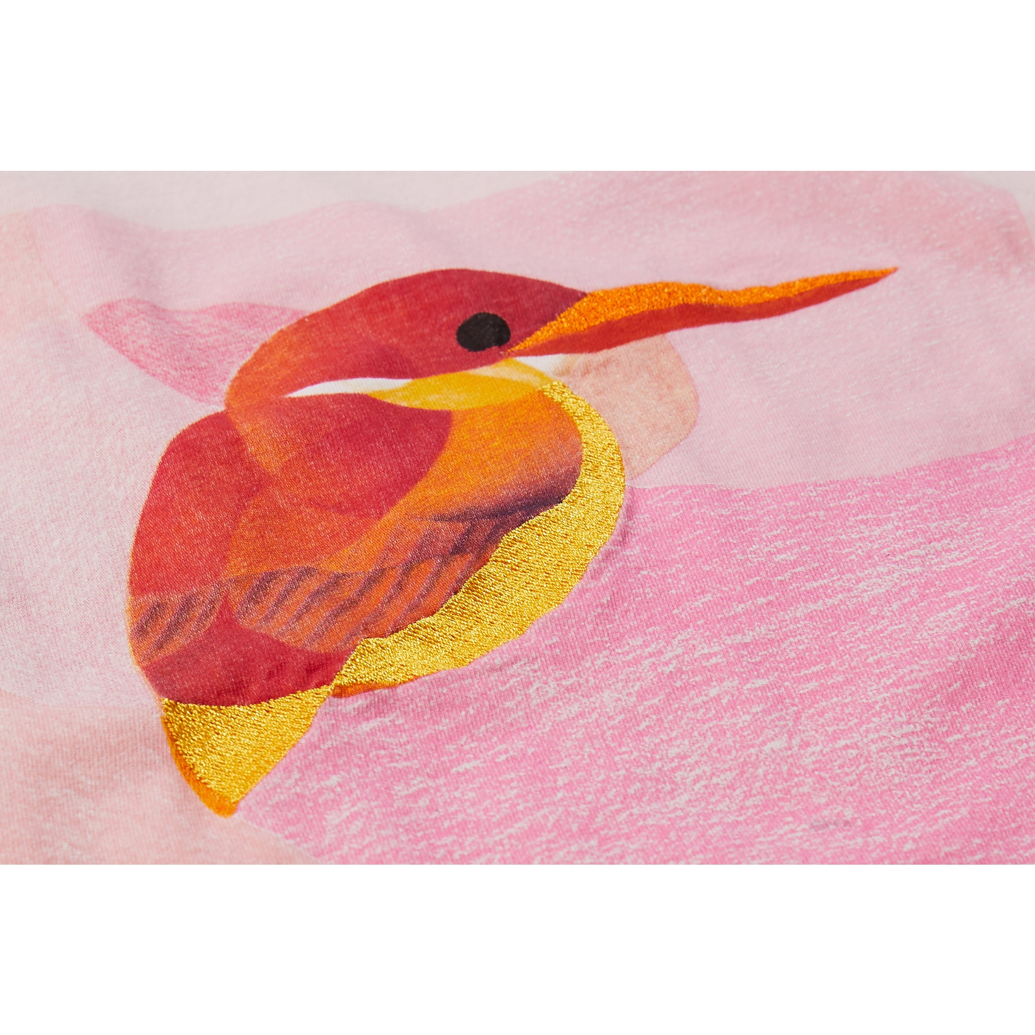 MARSH Vegas Pink Hummingbird - Sleeveless T-Shirt 3