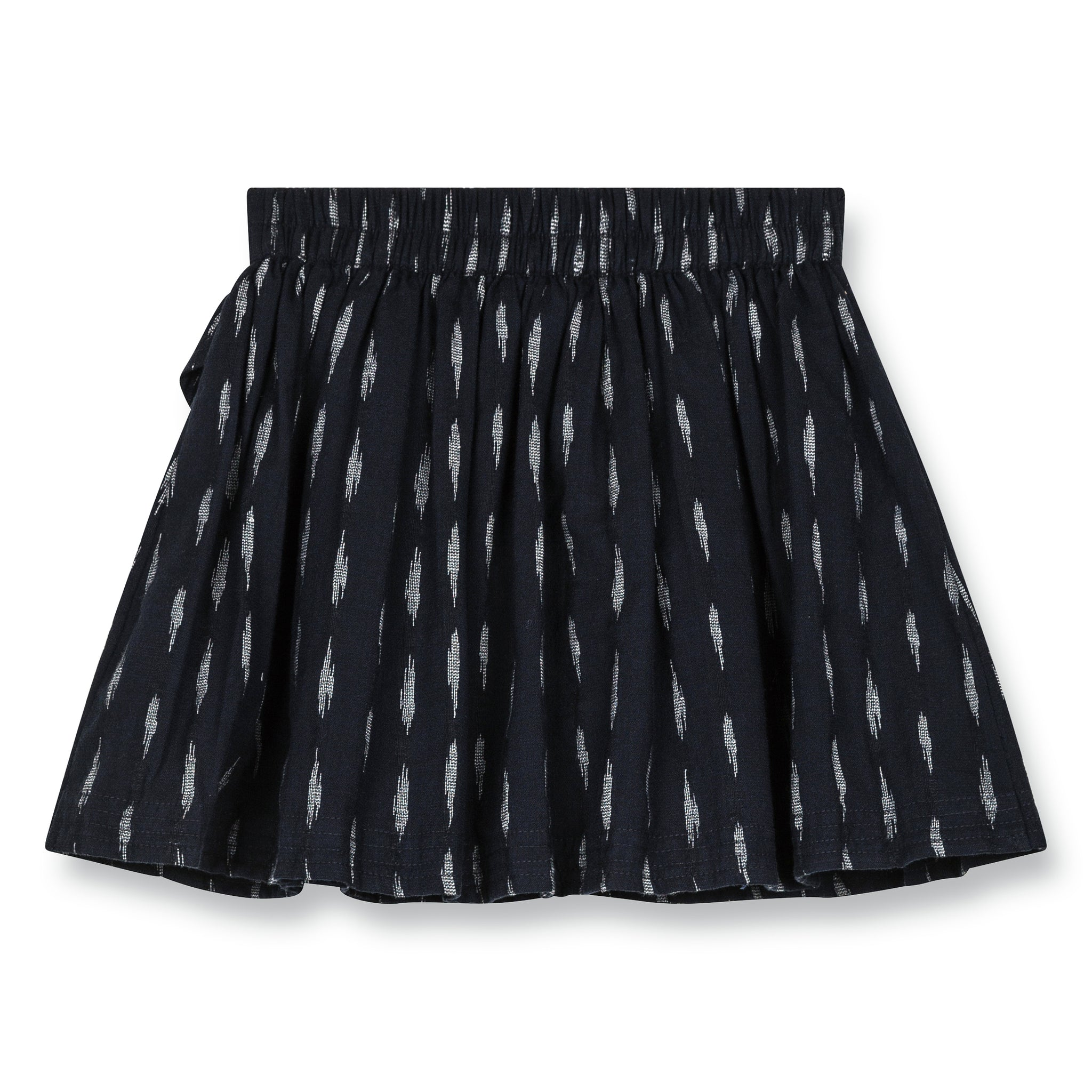 MAYBELLE Indigo Jacquard - Short Skirt 2