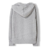 MELBOURNE Heather Cloud Springfield - Unisex Knitted Hoody 2