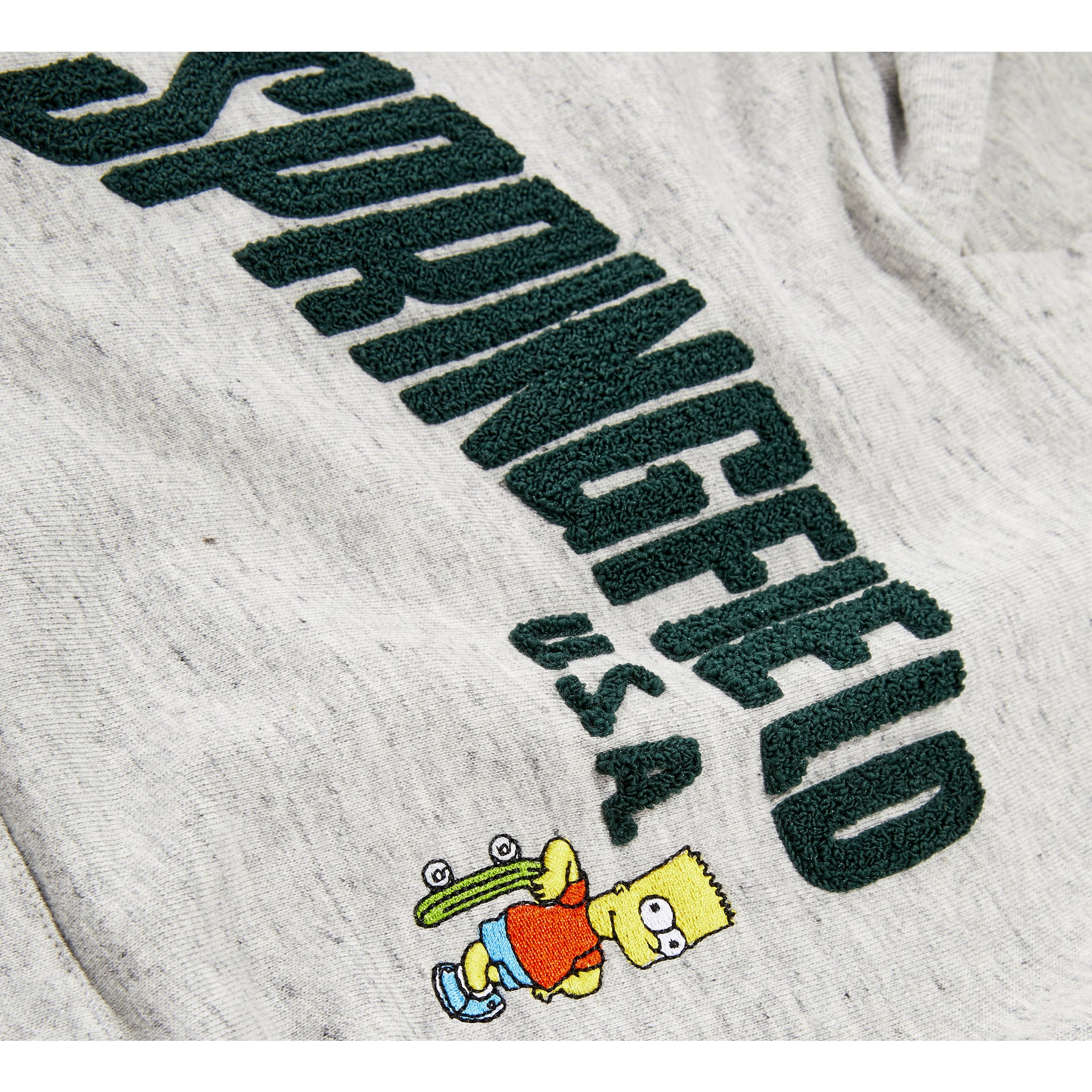 MELBOURNE Heather Cloud Springfield - Unisex Knitted Hoody 4 js-nozoom