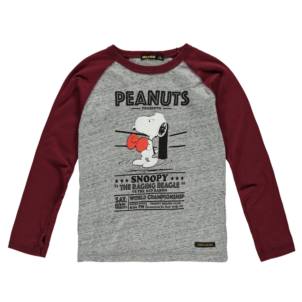 NEAL Heather Grey Boxing - Boys T-Shirt