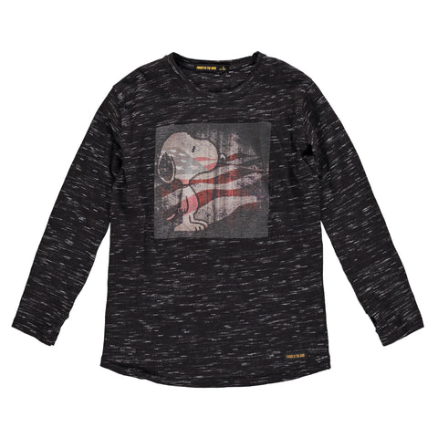 NEEDS Irregular Black US Flag - Girls T-Shirt