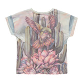 NEW BRITNEY Multicolor Hummingbird - Girl Short Sleeves T-Shirt