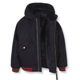NEW BALTIMORE Sailor Blue - Hooded Bomber Jacket 2
