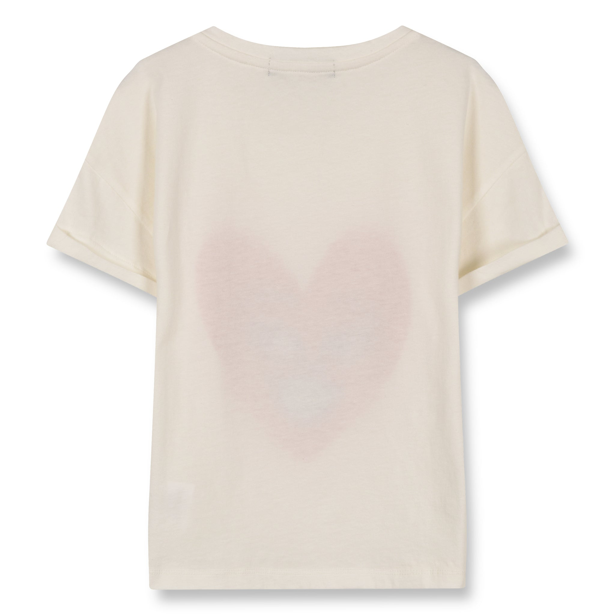 NEW BRITNEY Ecru Heart - Short Sleeves T-Shirt 3