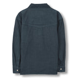 NEW DUSK Dark Blue Stripes - Long Sleeves Shirt 2