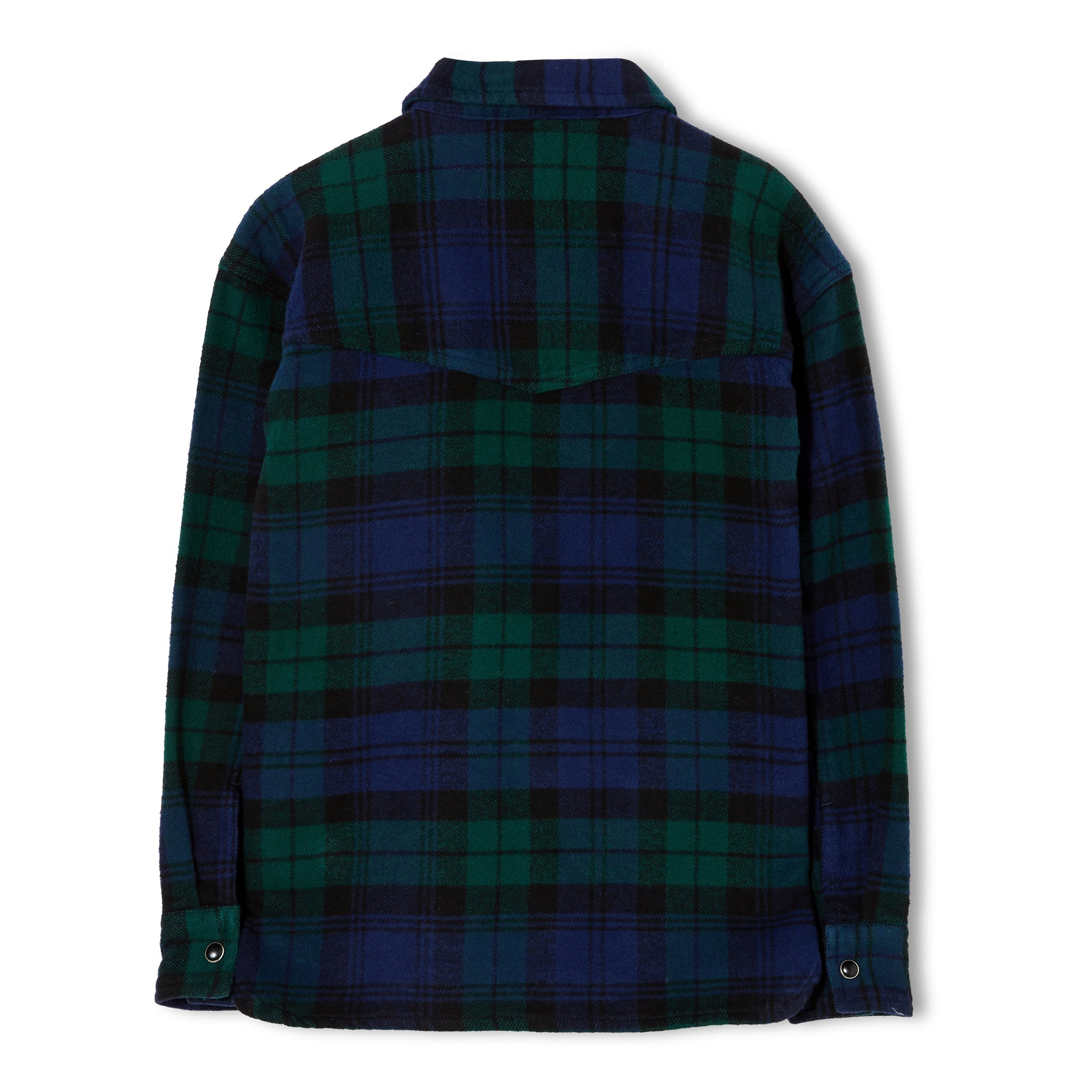 NEW DUSK Navy Checks - Long Sleeve Shirt 2