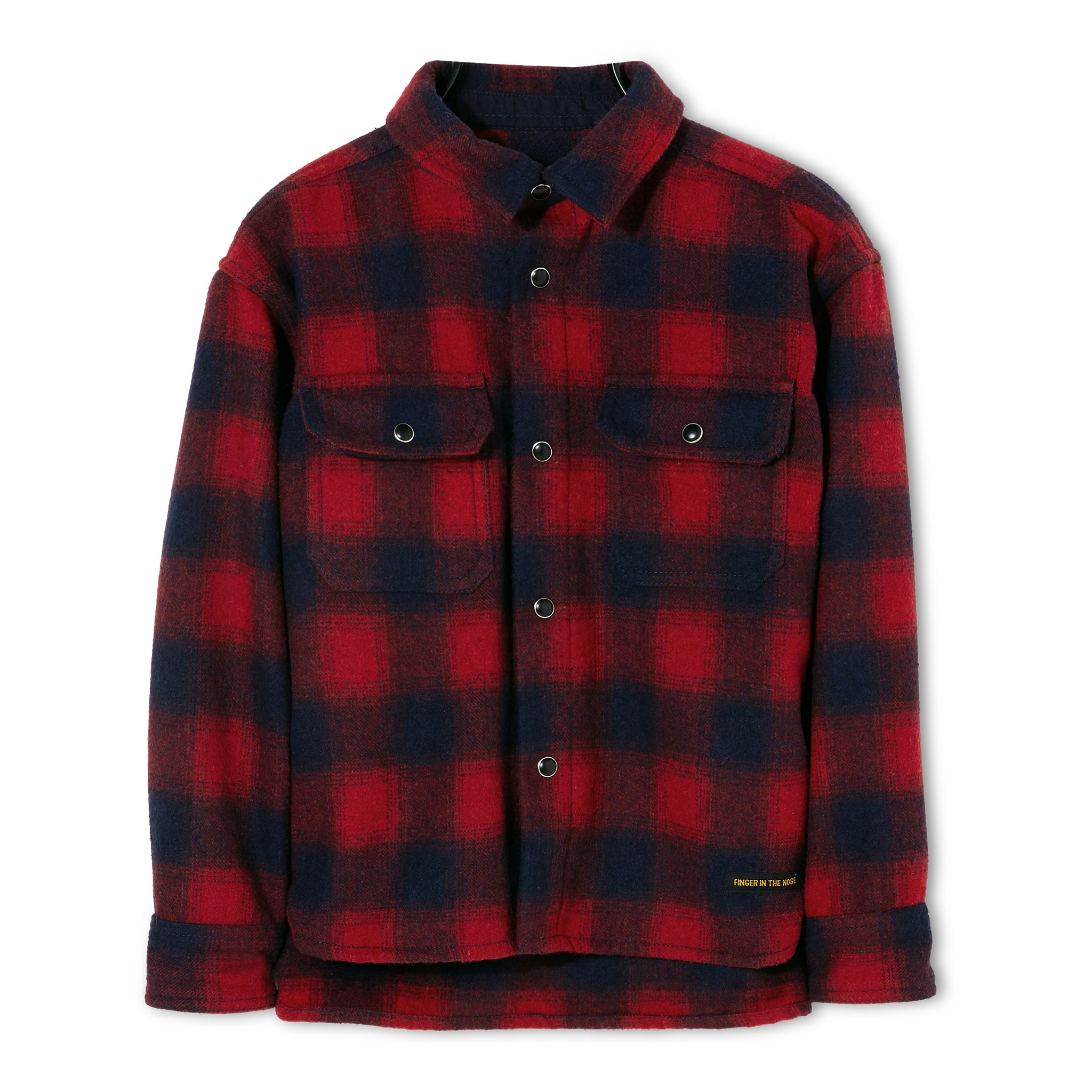 NEW DUSK Red Checks - Long Sleeve Shirt 1
