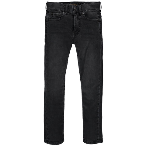 NEW NORTON Black Denim - Basic Straight Fit Jeans