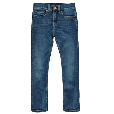NEW NORTON Dirty Blue - Boys Woven 5 Pockets Straight Fit Jeans