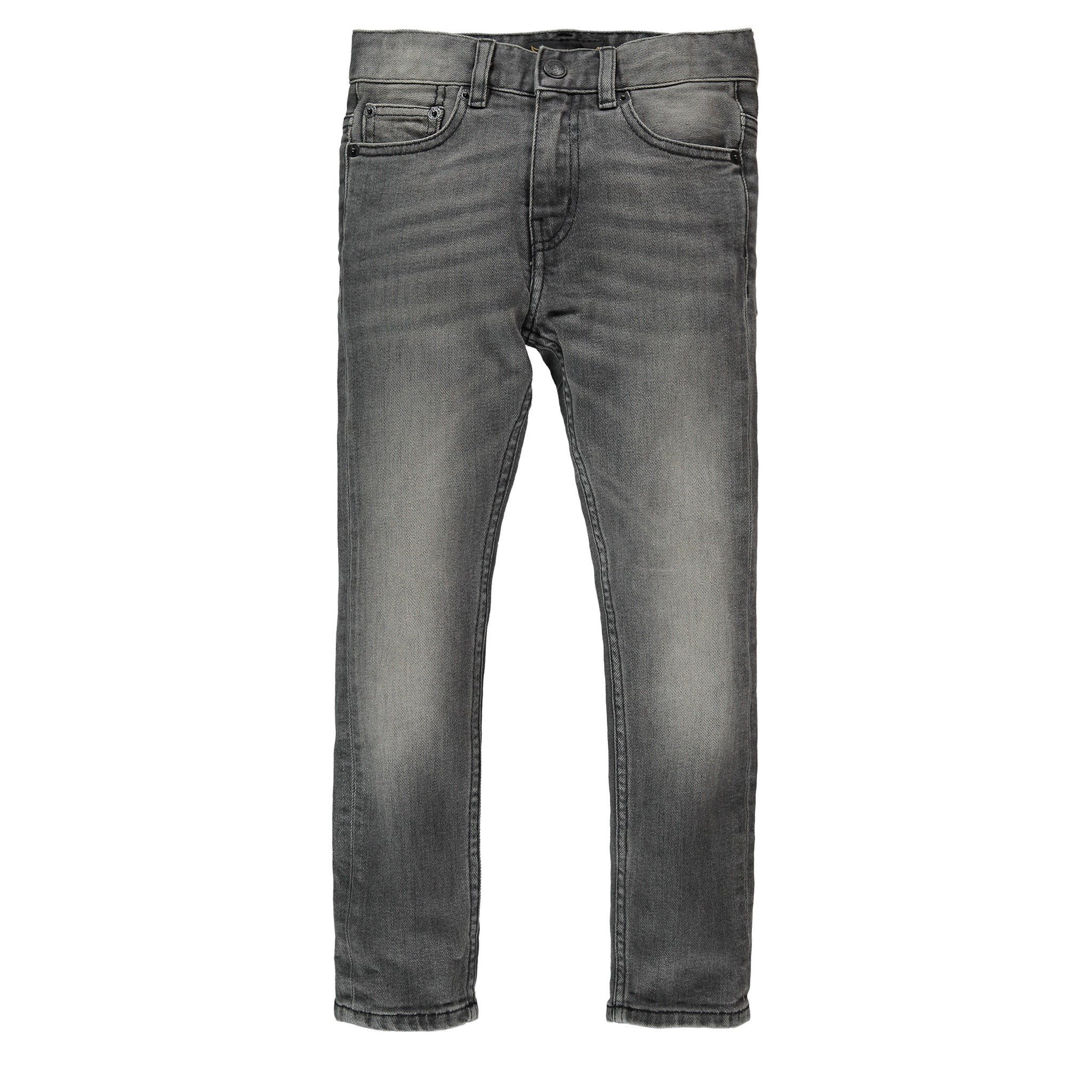 NEW NORTON Dirty Grey - Boys Woven 5 Pockets Straight Fit Jeans
