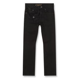 NEW NORTON Raw Black - 5 Pocket Straight Fit Jeans 2