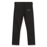 NEW NORTON Raw Black - 5 Pocket Straight Fit Jeans 3