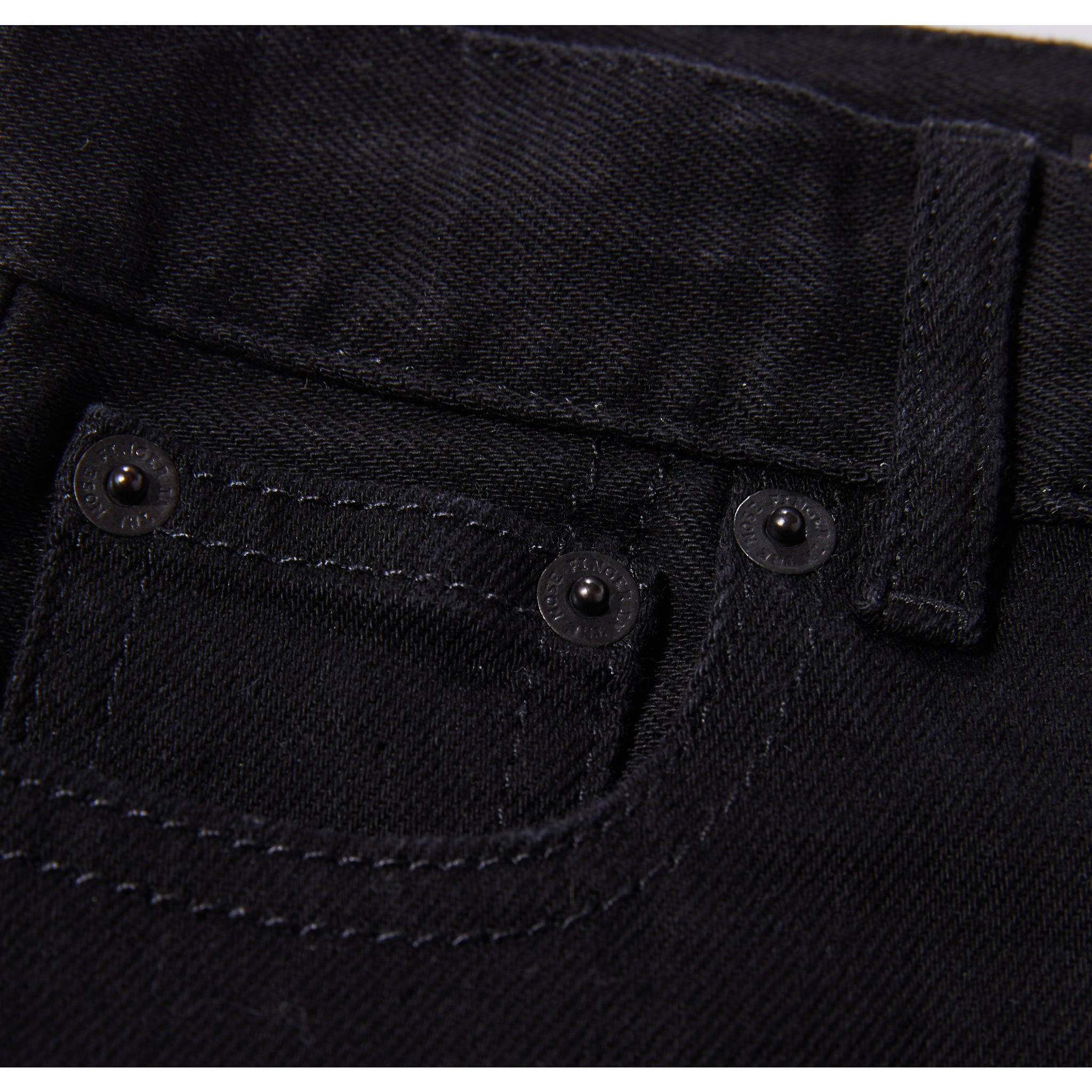 NEW NORTON Raw Black - 5 Pocket Straight Fit Jeans 4