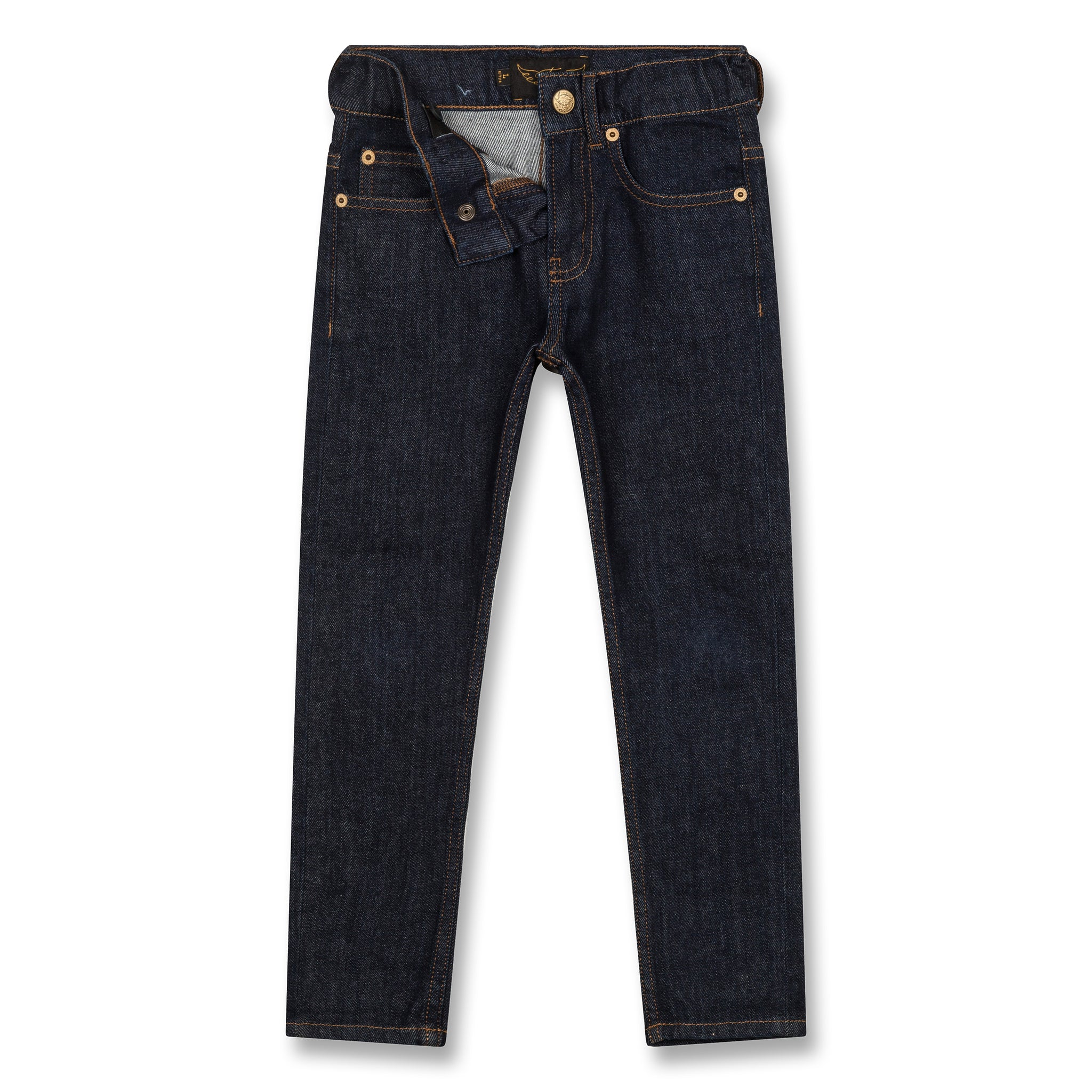 NEW NORTON Raw Denim Blue - 5 Pocket Straight Fit Jeans 2