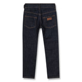 NEW NORTON Raw Denim Blue - 5 Pocket Straight Fit Jeans 3