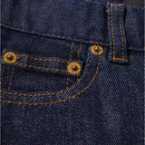 NEW NORTON Raw Denim Blue - 5 Pocket Straight Fit Jeans 5