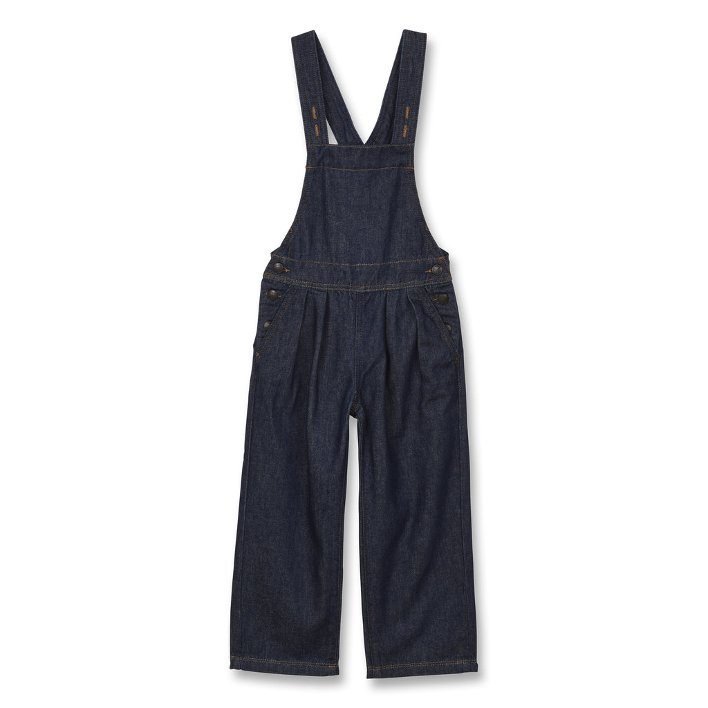 NEW WORKER Raw Denim Blue - Loose Fit Overall 1