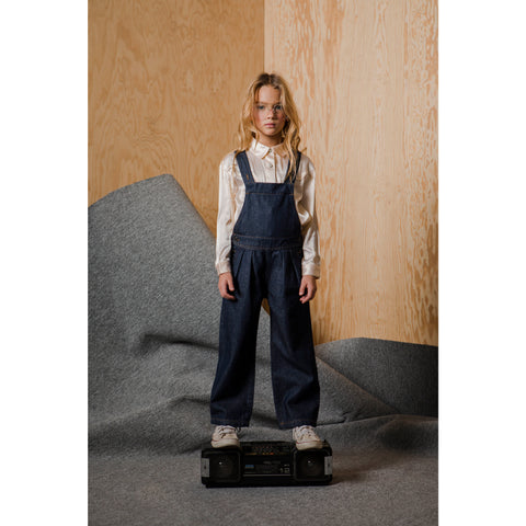NEW WORKER Raw Denim Blue - Loose Fit Overall