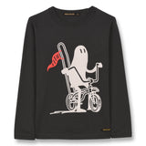 NICO Ash Black Ghost Rider - Long Sleeves T-shirt 1