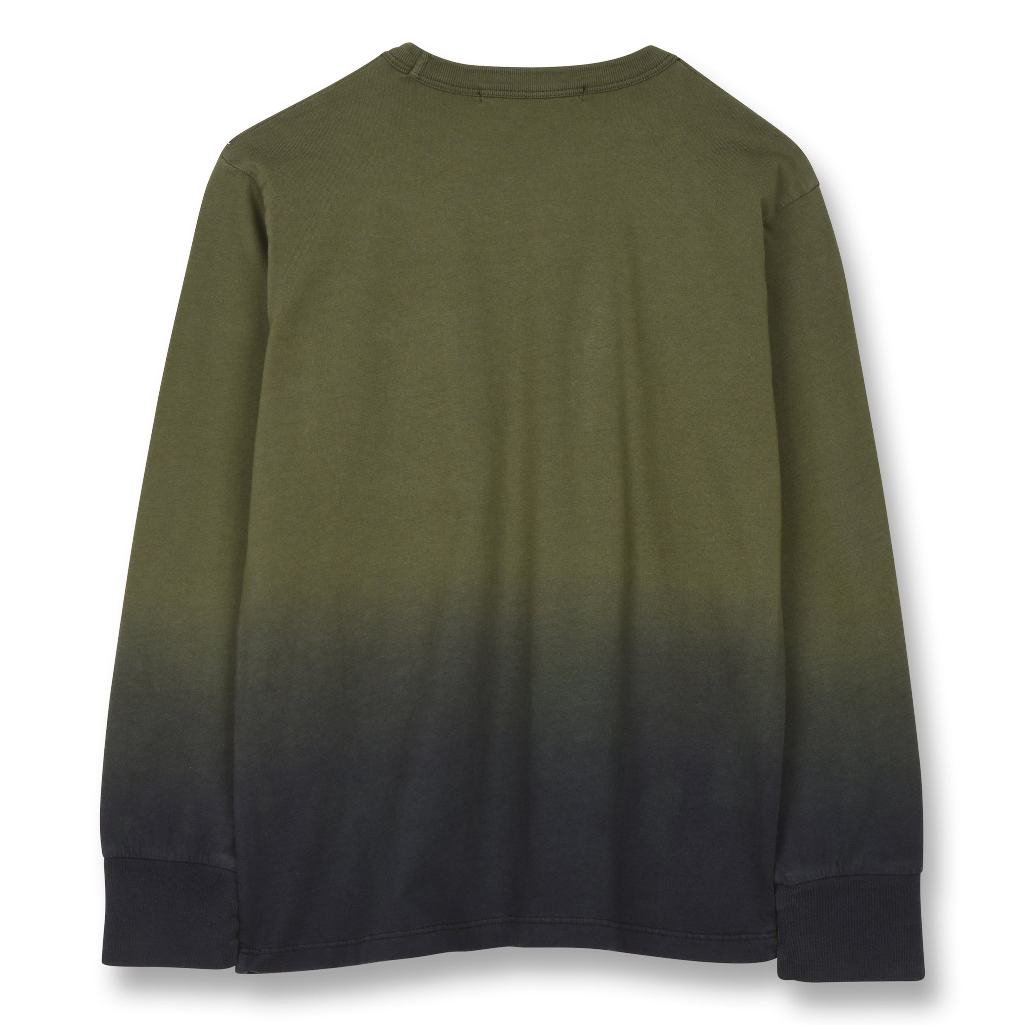 NICO Khaki Dip Dye - Long Sleeves T-shirt 2