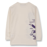 NICO Off White Skate Cat - Long Sleeves T-shirt 2