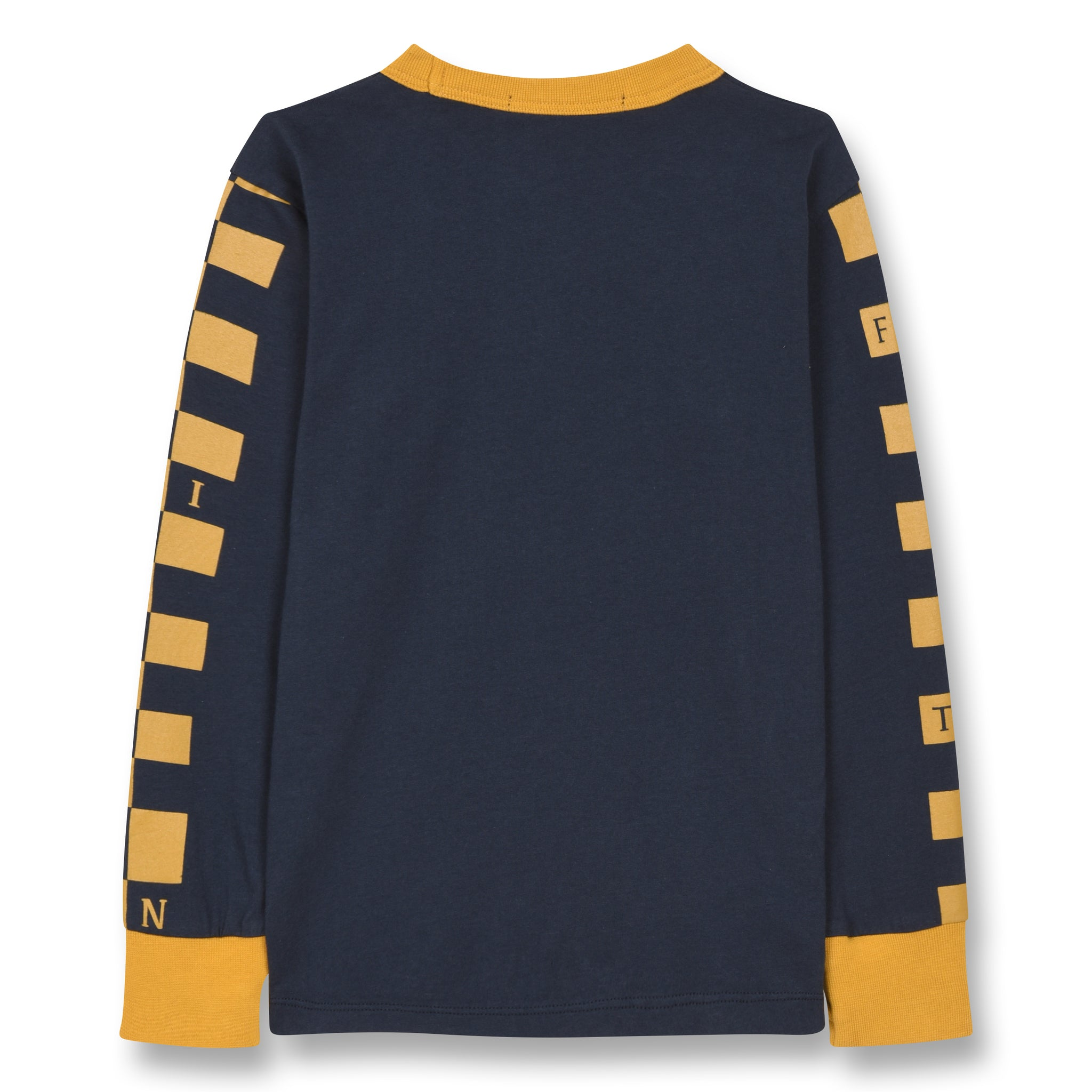 NICO Sailor Blue Cool Cat - Long Sleeves T-shirt 2