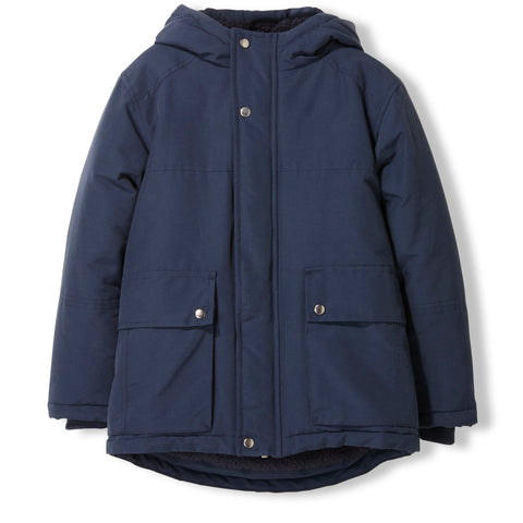 NORDFOLK Night Blue -  Woven Multipockets Parka 1