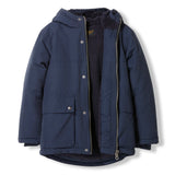 NORDFOLK Night Blue -  Woven Multipockets Parka 2