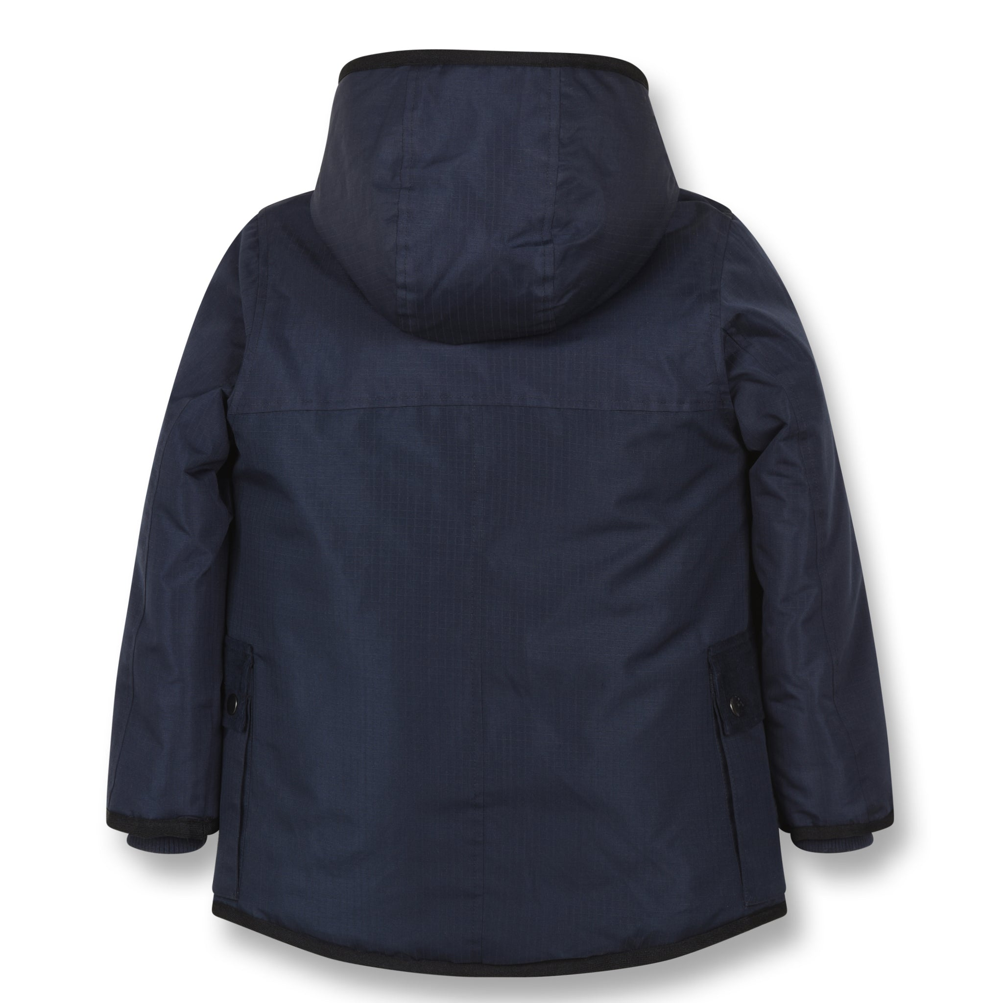 NORDFOLK Sailor Blue -Ripstop Parka with Faux Fur 2
