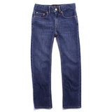 NORTON Eighties Blue - Five Pocket Straight Fit Jeans