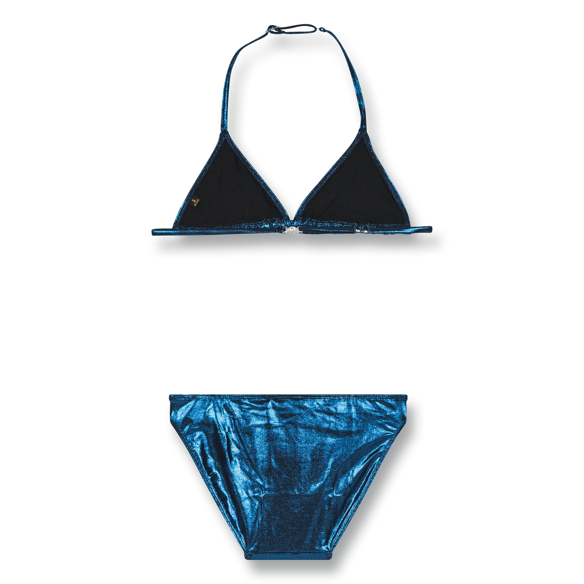 NOUMEA Blue Metal -Triangle Bikini 2