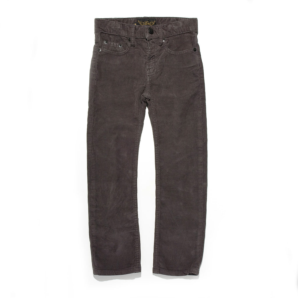 NORTON Cord Grey - 5-Pocket Straight Fit Jean