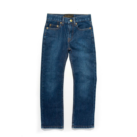 NORTON Blue  Denim - 5-Pocket Straight Fit Jean