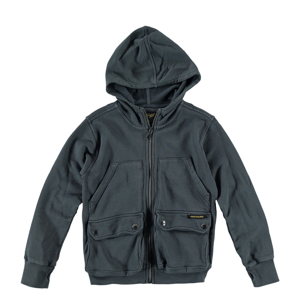 OGADEN Vulcano - Boy Multipocket Zipped Hoody