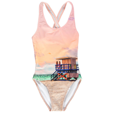 OLIVIA Multicolour Costguard - Girl Swimsuit