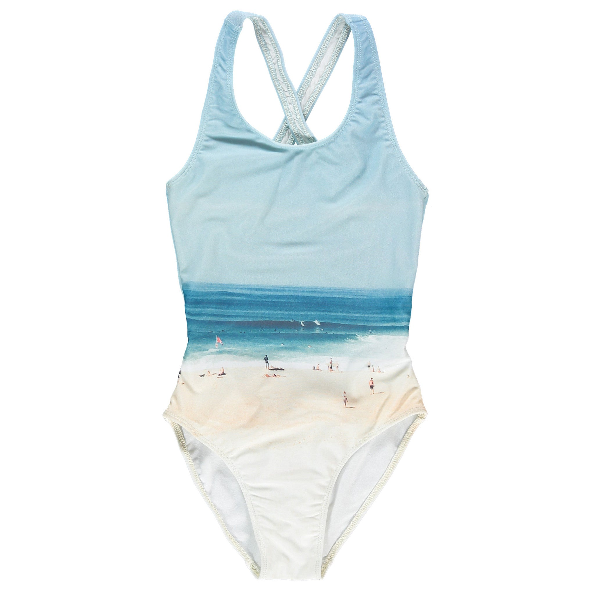 OLIVIA Multicolor Beach Sand - Girl Swimsuit