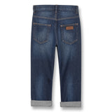 OLLIBIS Medium Blue - 5 Pocket Baggy Fit Jeans 2