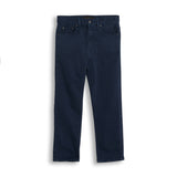 OLLIBIS Navy - 5 Pockets Baggy Fit Pants 1